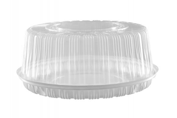 Пластиковая упаковка, пластиковые коробки (коррексы) для тортов и пирожных