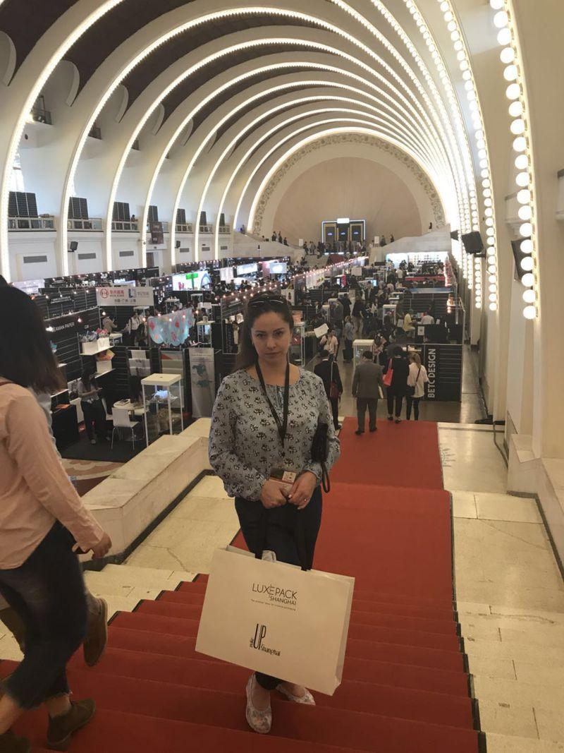 Компания Мастер Пак на выставке Luxe Pack Shanghai 2018, мы всегда в курсе самых крутых новинок!